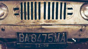 matricula coche